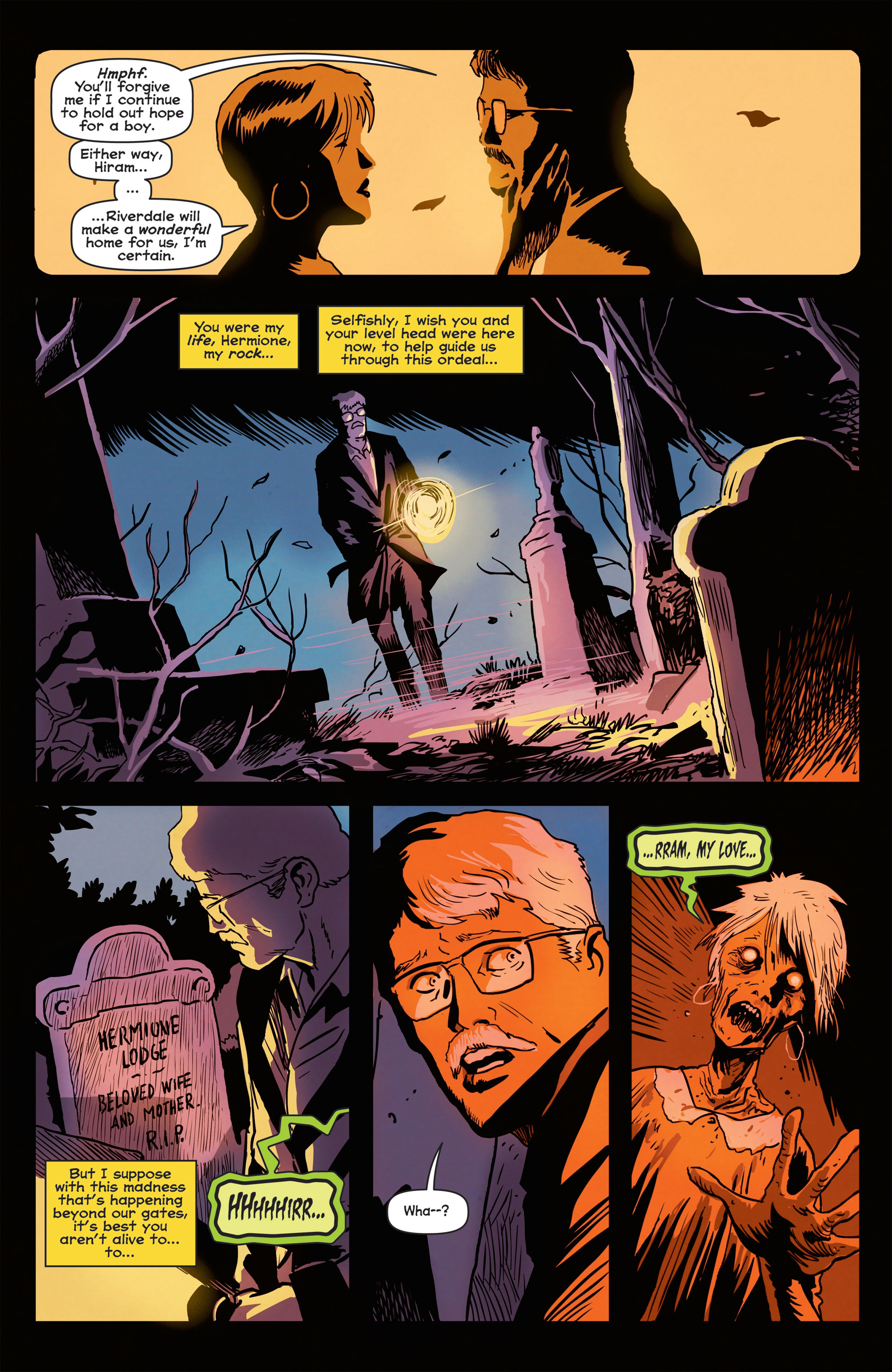 Read online Afterlife with Archie comic -  Issue #3 - 6