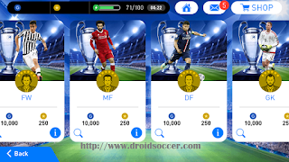 Download PES Mobile 2018 v2.2 Mod Minimumpatch v3.8 Apk + Obb