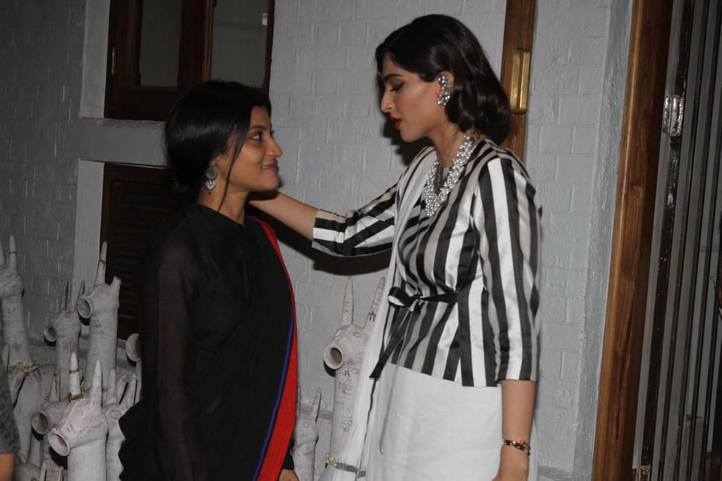 Sonam Kapoor Stills At Raw Mangoes Store Launch