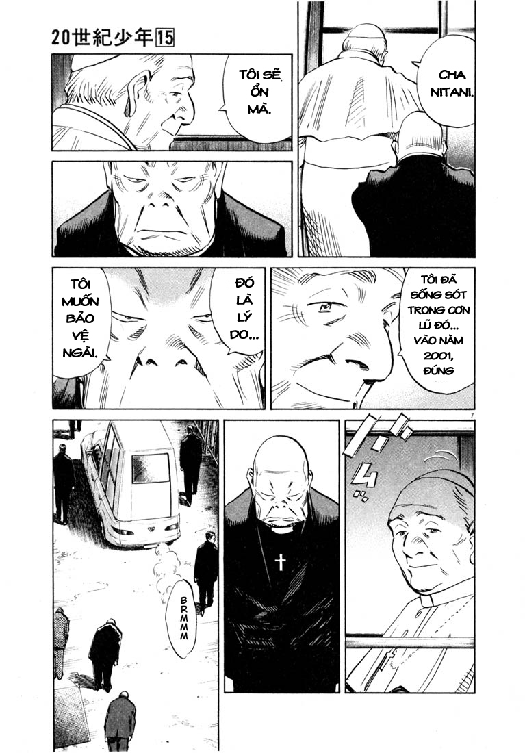 20th Century Boys chapter 165 trang 7