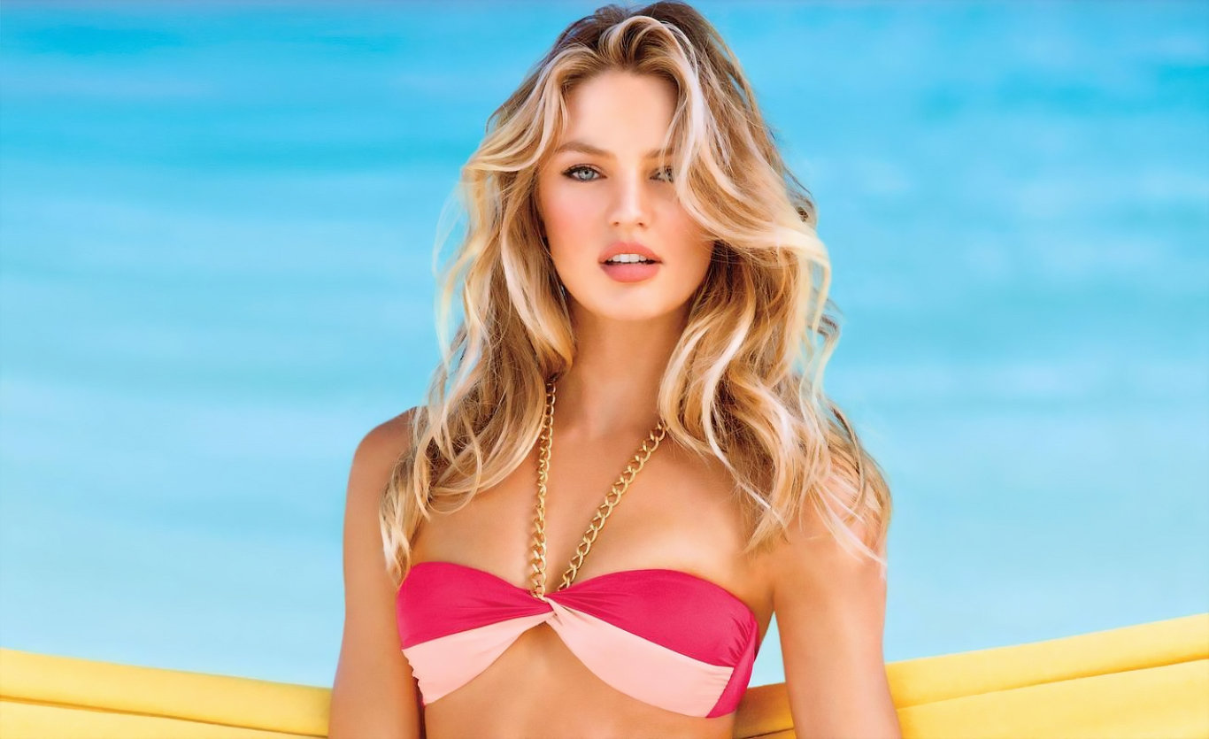 Candice Swanepoel Hot Bikini Wallpaper