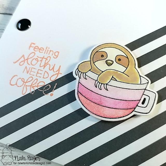 Newton's Nook Designs Slothy Coffee Set - Naki Rager