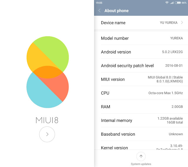 MIUI 8 Stable Screenshot 1