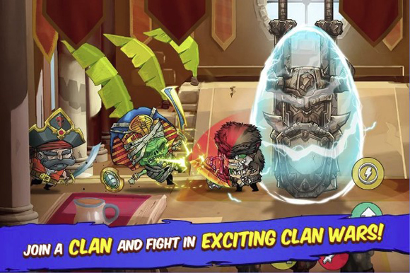 Tiny Gladiators Mod Apk v2.2.0 Unlimited Money Gems Terbaru