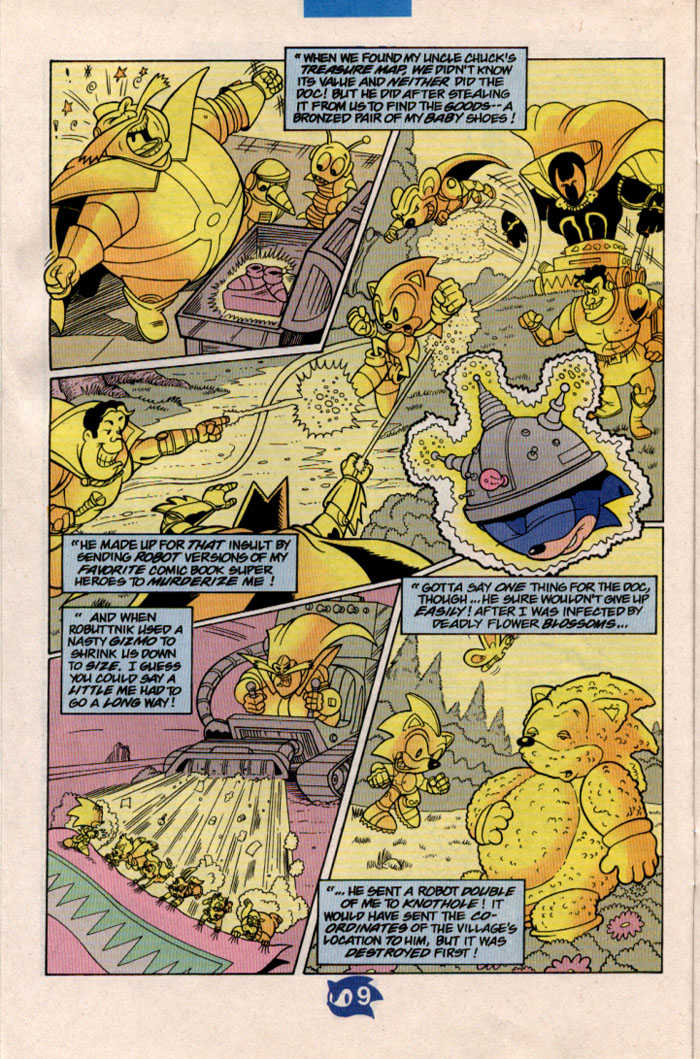 Read online Sonic The Hedgehog comic -  Issue #57 - 11