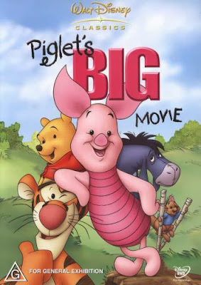 Poster Of Piglet's Big Movie (2003) In Hindi English Dual Audio 300MB Compressed Small Size Pc Movie Free Download Only At worldfree4u.com