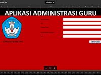 Aplikasi Pembuatan Administrasi Guru dalam 1 File Excel Lengkap Mudah dan Efesien Waktu