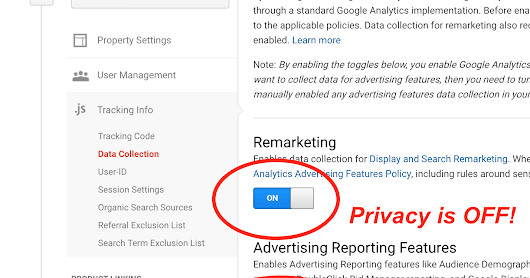 How to enable/disable privacy protection in Google Analytics (it's easy to get wrong!)