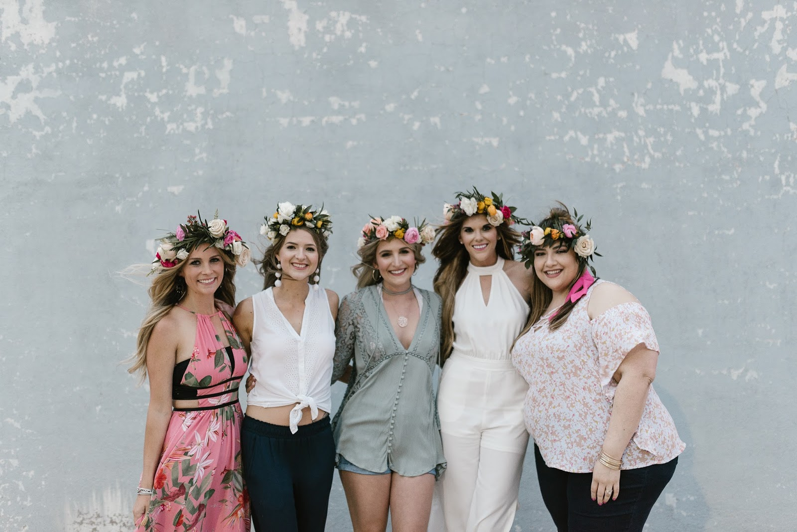 Cocktails + Crowns // Flower Crown Party   beautywithlily.com
