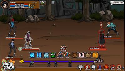 Ninja Saga v0.9.64 Apk Screenshot