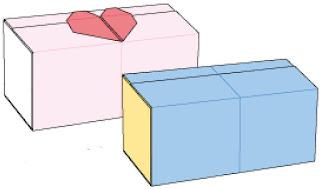 Bước 9: Bạn có thể xem các bài gấp trái tim để thêm trái tim vào hộp giấy cho đẹp nhé
