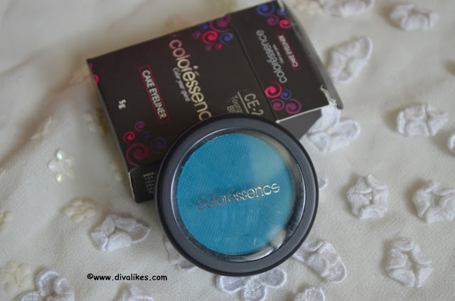 Coloressence Cake Eyeliner CE-2 Tourquish Blue Review