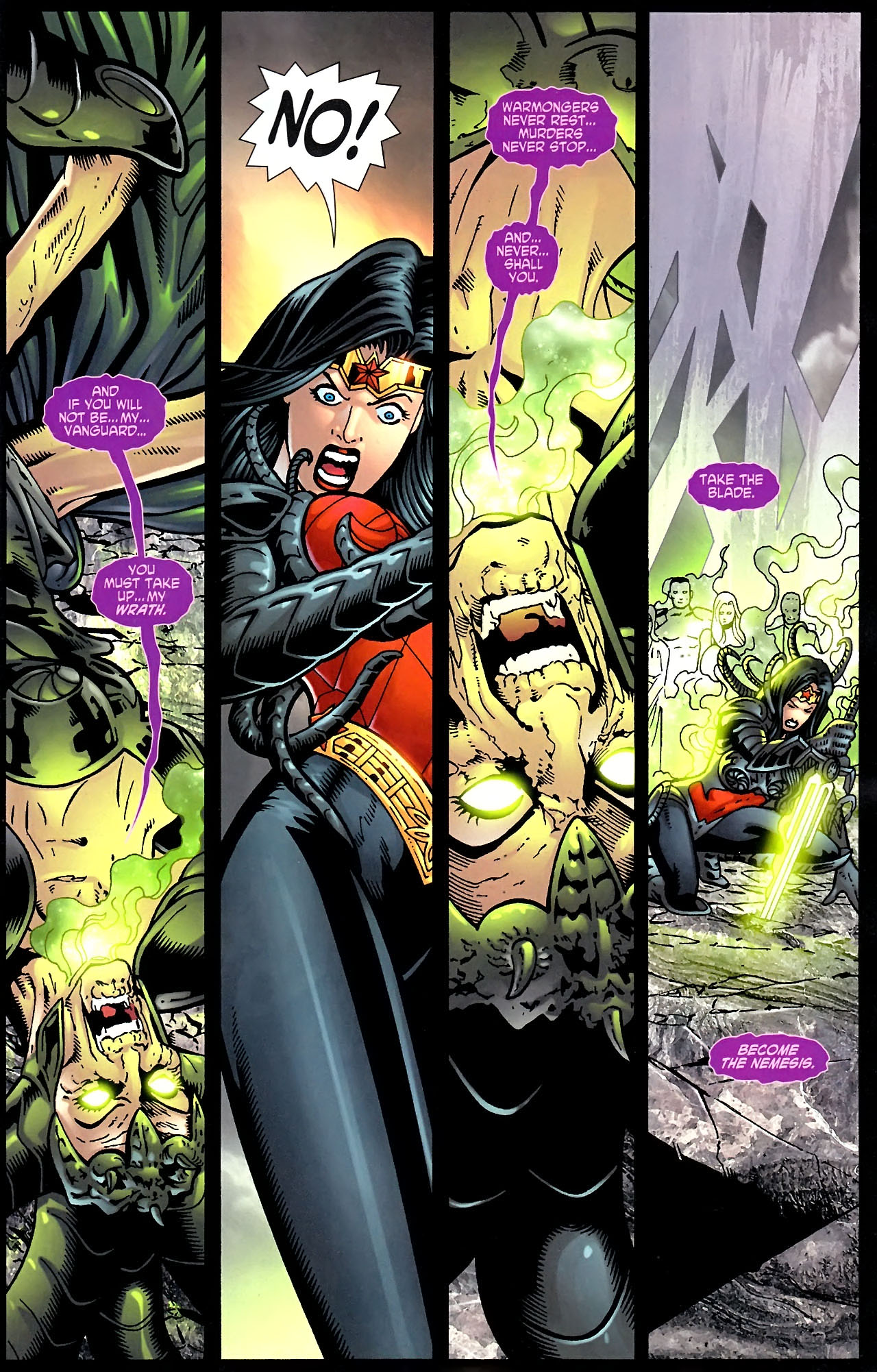 Read online Wonder Woman (2006) comic -  Issue #614 - 9
