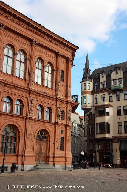 Art Museum Riga Bourse facade
