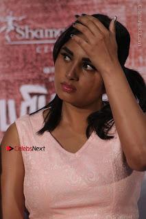 Actress Srushti Dange Stills in Short Dress at Mupparimanam Press Meet  0009.jpg