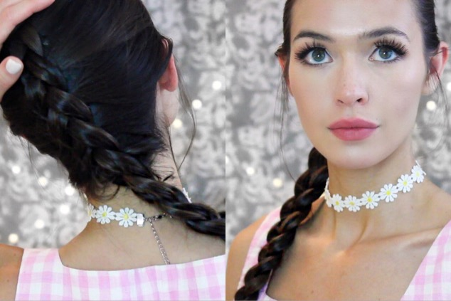 How To Double Dutch Braid Your Own Hair For Beginners Auto