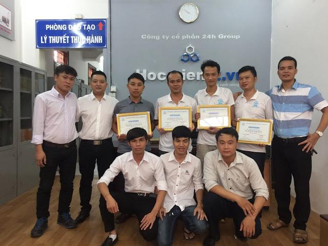 học viên tốt nhgiệp khóa học sửa máy tính laptop đến từ Hưng Yên Hải Phòng Quảng Ninh