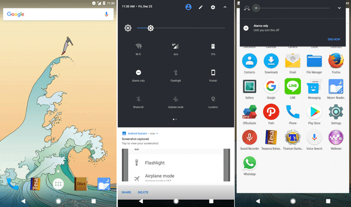cypherOS xperia L android N