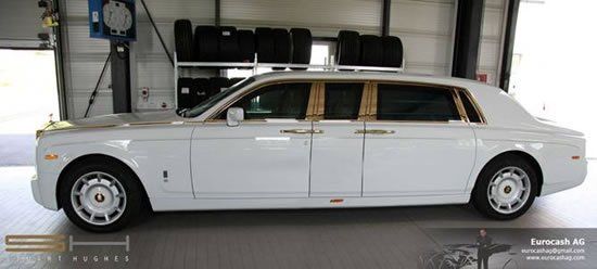 Yudi World Rolls Royce Phantom Solid Gold