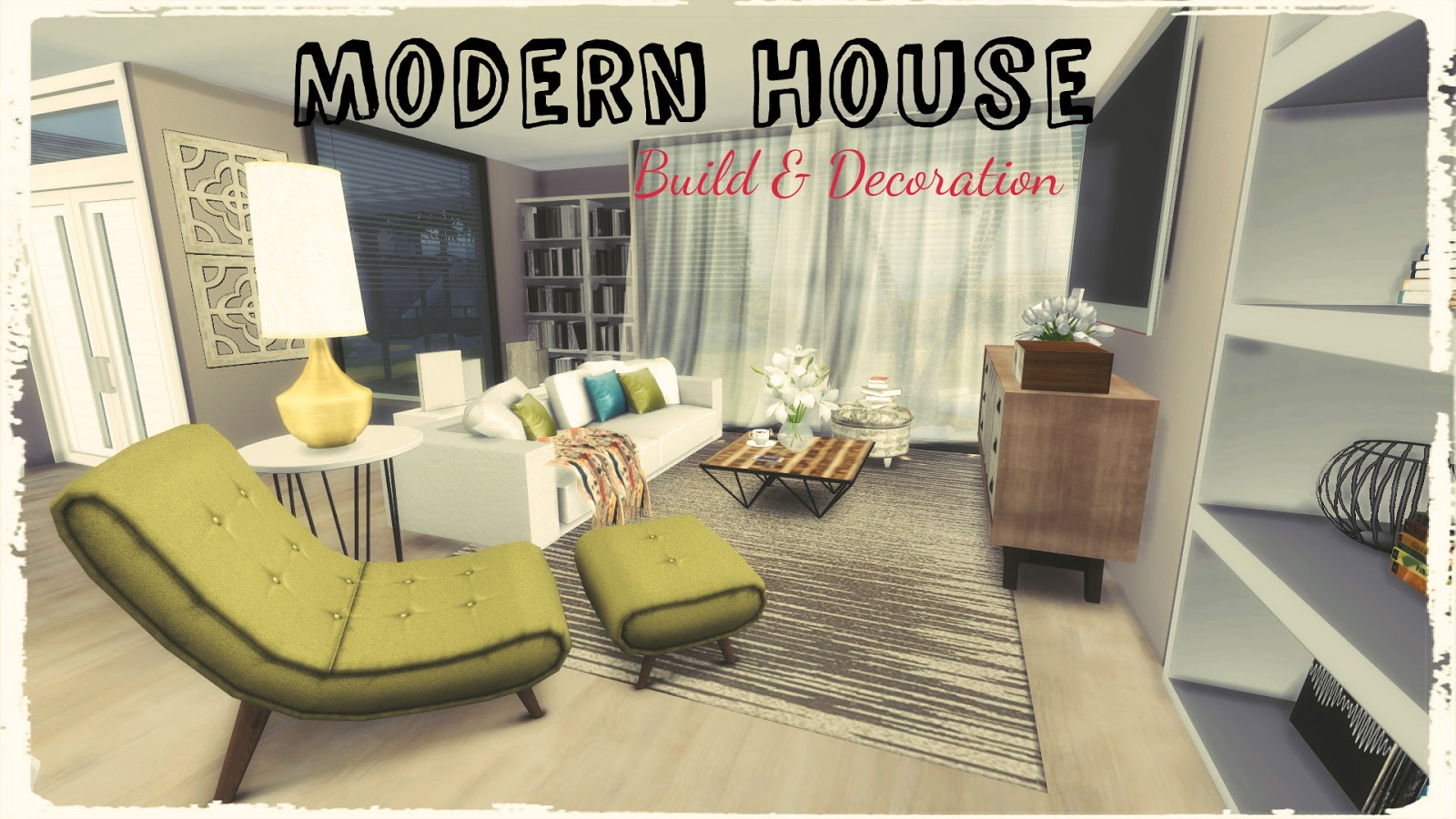 Sims 4 Modern House Dinha
