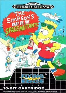 The Simpsons: Bart vs. The Space Mutants (BR) [ SMD ]