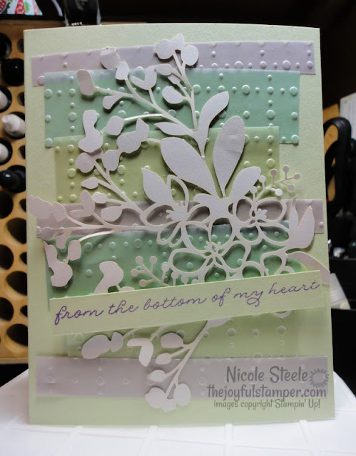 Set of Thank You cards using So Very Vellum and Shimmer Detailed Laser-Cut Specialty Designer Series Papers and Ornate Thanks stamp set  Nicole Steele The Joyful Stamper | Stampin' Up!