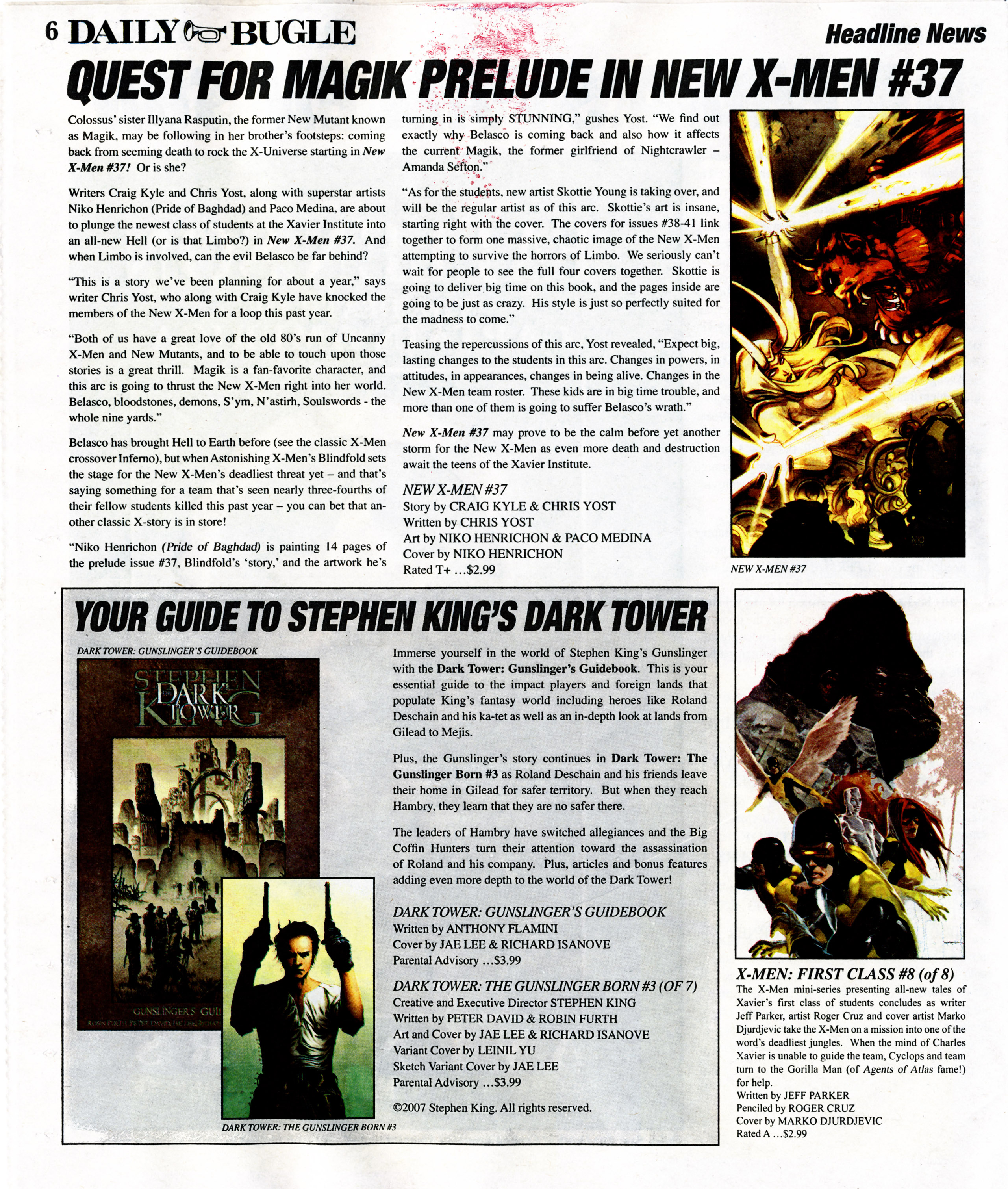 Read online Daily Bugle (2006) comic -  Issue #7 - 6