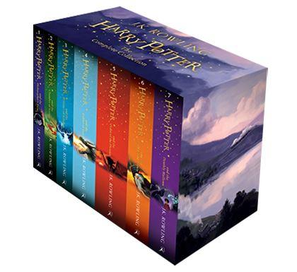 En Çok Okunan Kitaplar - Harry Potter Kitap Seti - J.K.Rowling - Kurgu Gücü