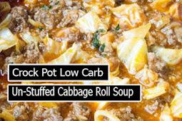 Delicious Crock Pot Low Carb Un-Stuffed Cabbage Roll Soup