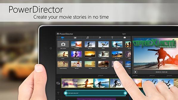 Download Aplikasi CyberLink PowerDirector Pro Apk Terbaru