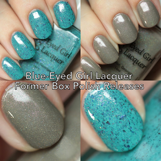 Blue-Eyed Girl Lacquer Former Box Polish Releases