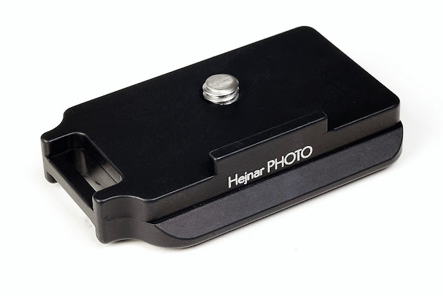 Hejnar Photo D039 QR plate top front view