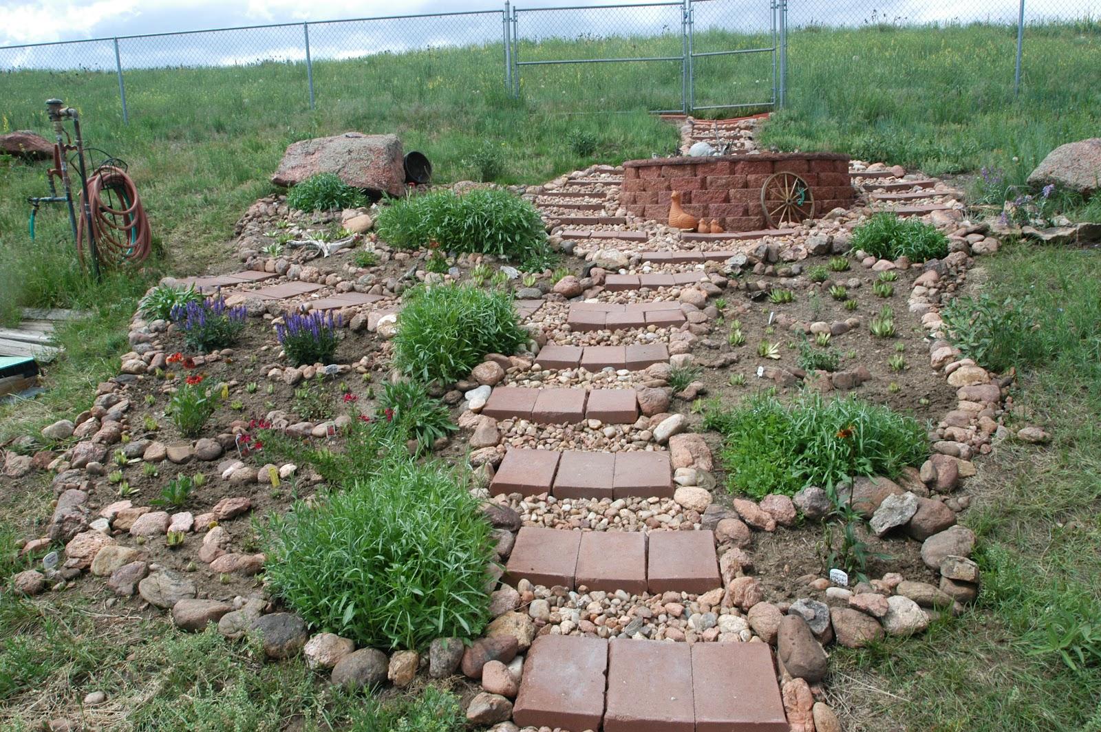 JeffCo Gardener: The Rock Garden  Adding Depth and ...