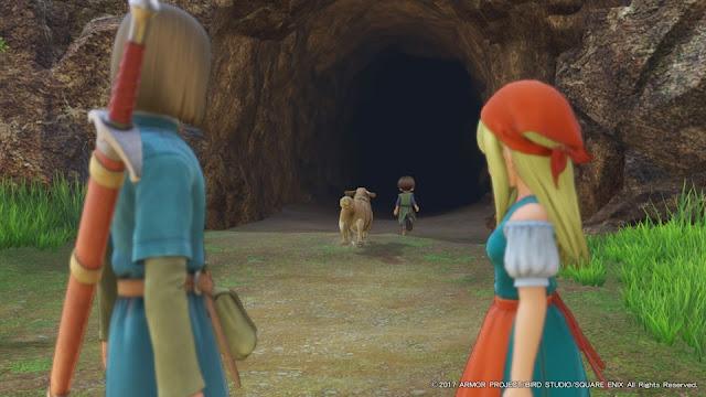 ドラクエ11 洞窟 帰る