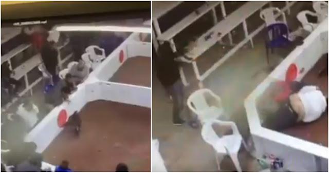 """Video Filtrado; Momento en que sicarios de """"La Línea"""" entran a Palenque clandestino en Chihuahua y ejecutan a 6 personas"""
