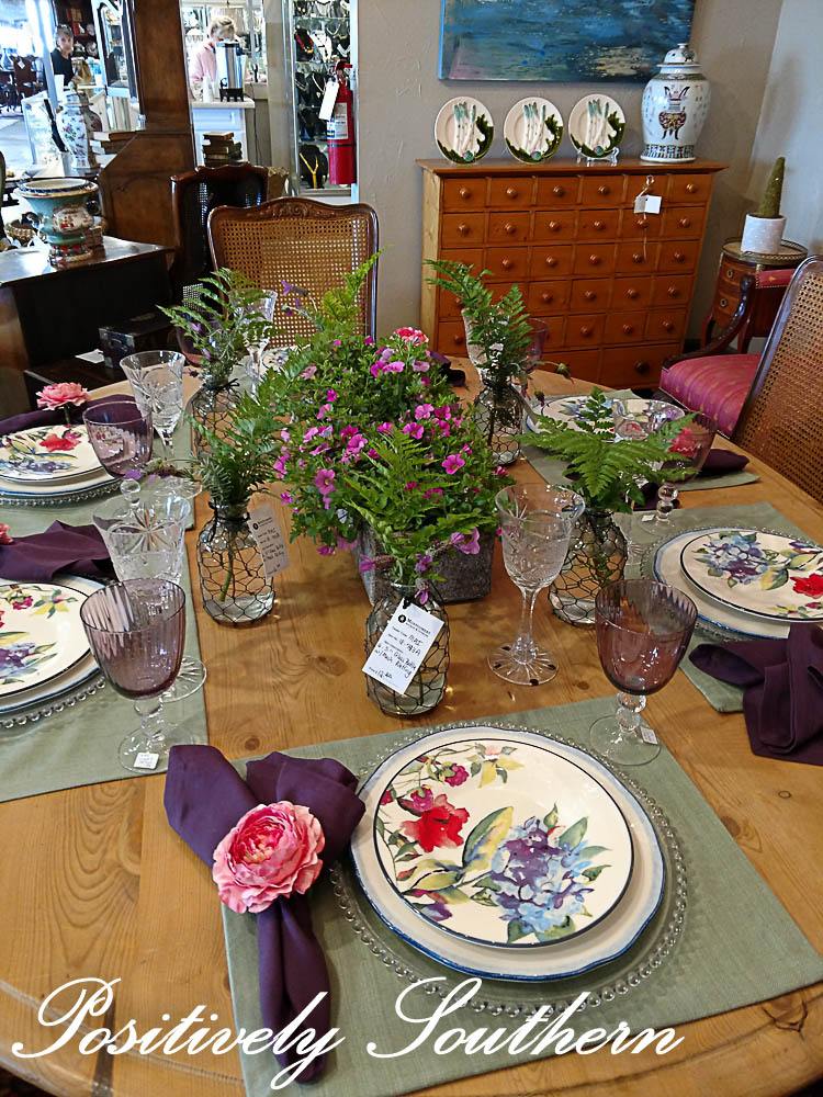 this trip in they were hosting their annual tablescapes around the store should you live in proximity to montgomery al and love a tablescape this event is - Tablescapes
