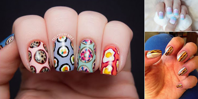 Nail Art Inspired By 10 Summer Treat Favorites!