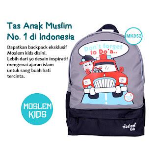 Tas Ransel Anak Sekolah Karakter Islami