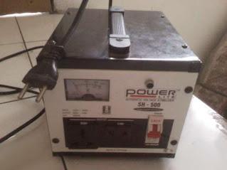 Darmatek Jual POWERLITE SH-500 Analog Stabilizer