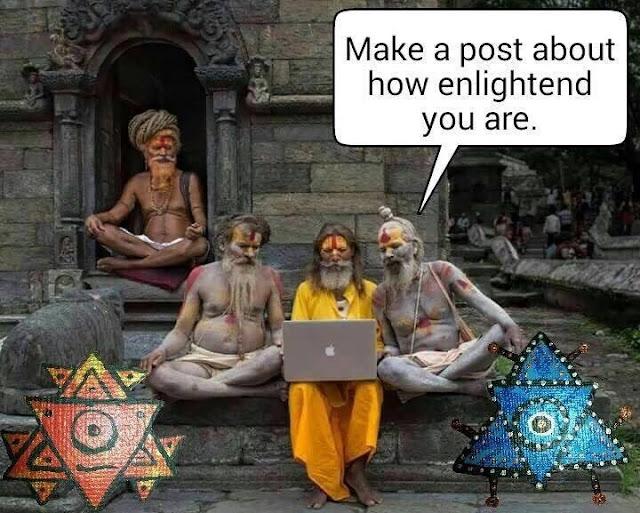 Funny religion | Social Media Enlightenment meme picture
