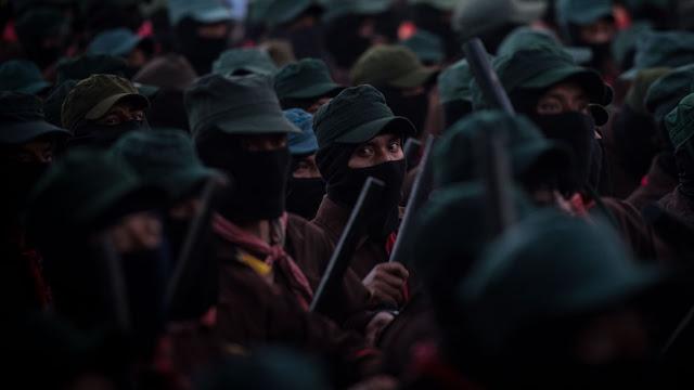 EZLN 'frena' a López Obrador y se opone a proyectos como el Tren Maya