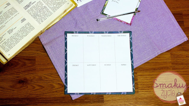 Planowanie tygodniowego menu- jak zacząć?