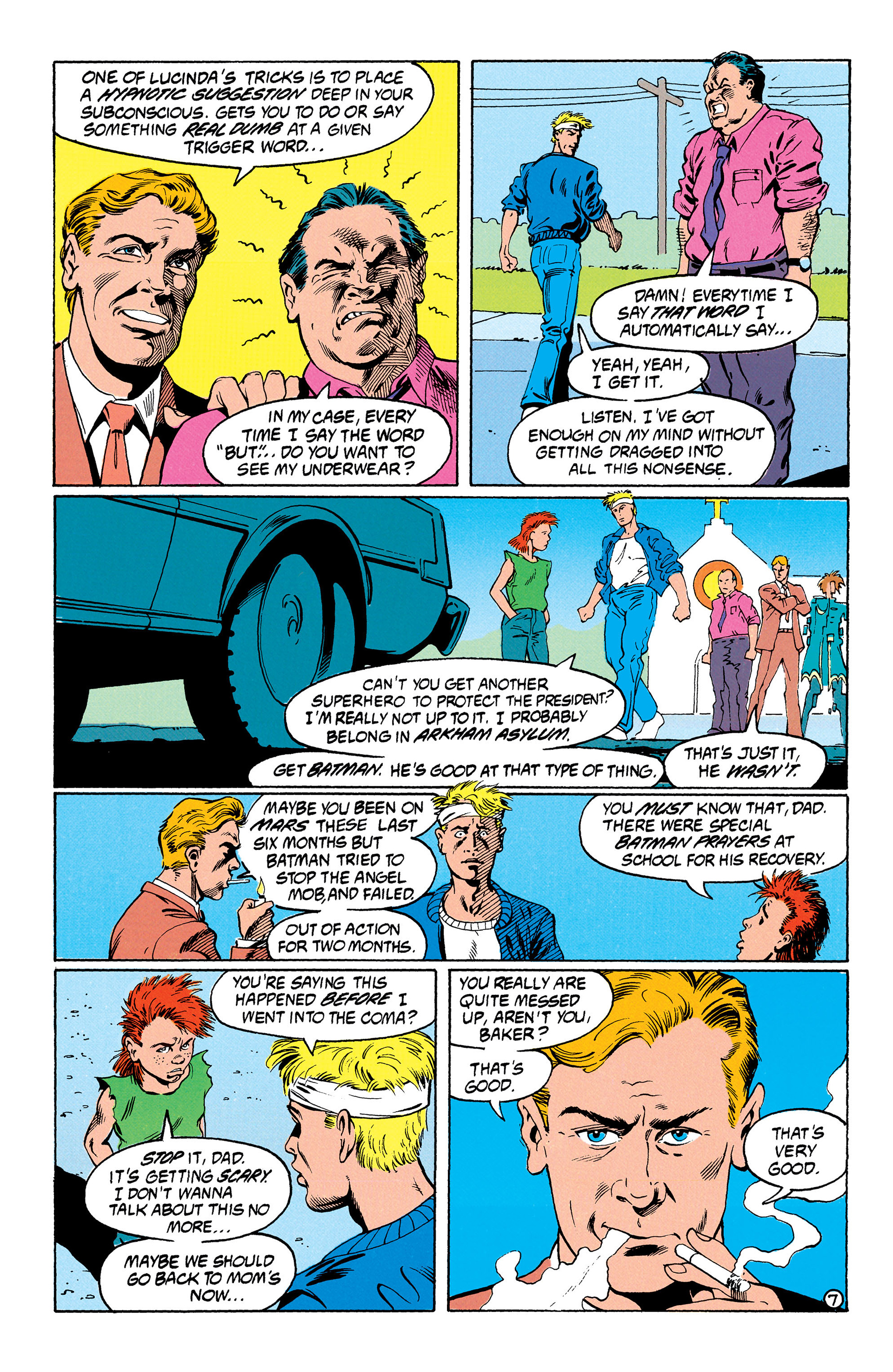 Read online Animal Man (1988) comic -  Issue #30 - 8