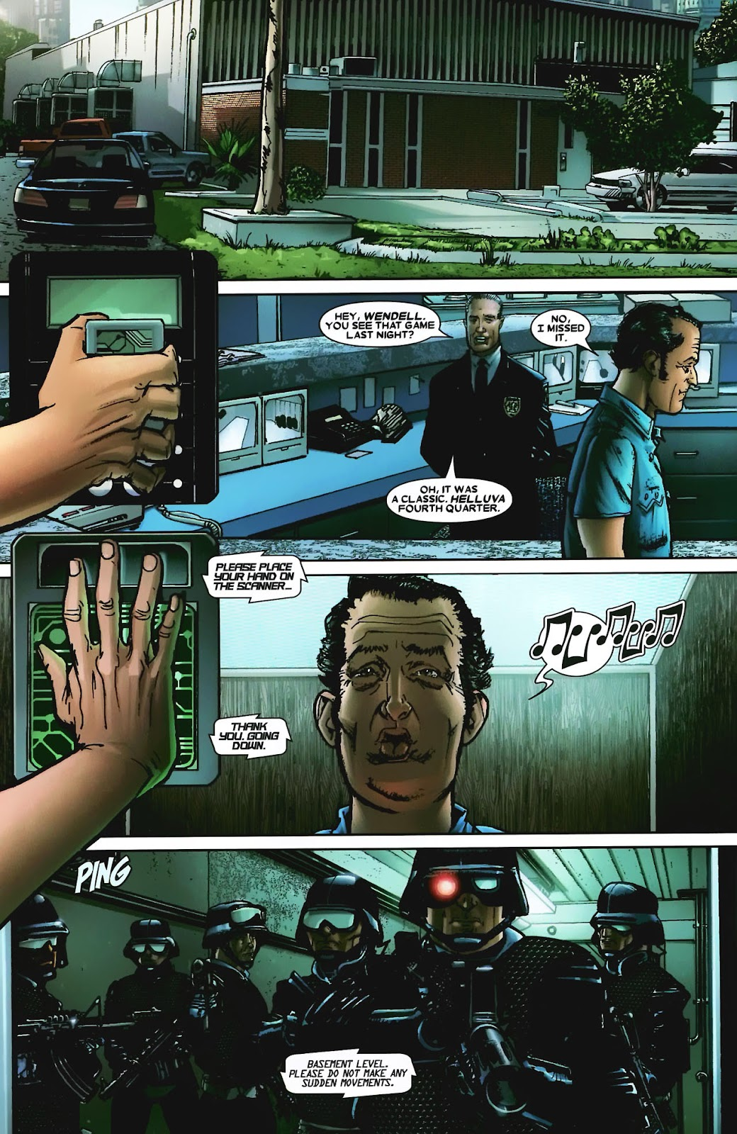 Read online Wolverine (2003) comic -  Issue #56 - 4