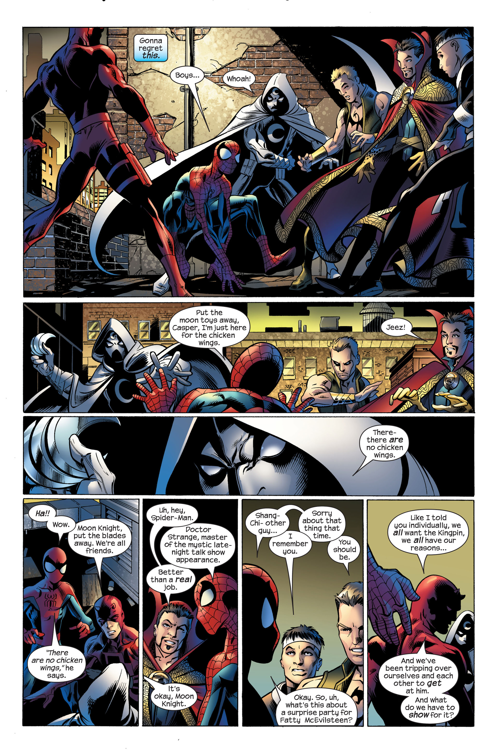 Read online Ultimate Spider-Man (2000) comic -  Issue #107 - 14