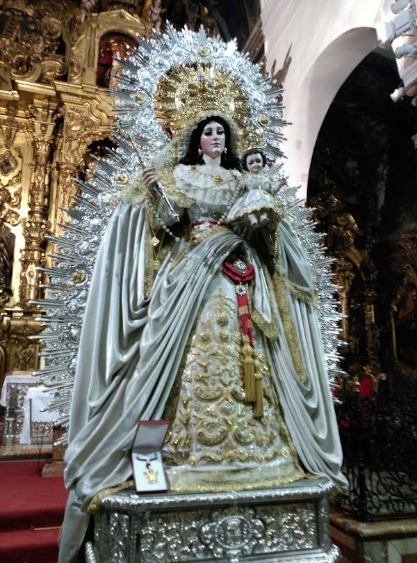 Horario e Itinerario Salida Procesional Virgen de las Nieves. Sevilla 21/10/2018