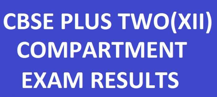 CBSE Plus Two Compartment Result 2018 – CBSE Class 12th Results