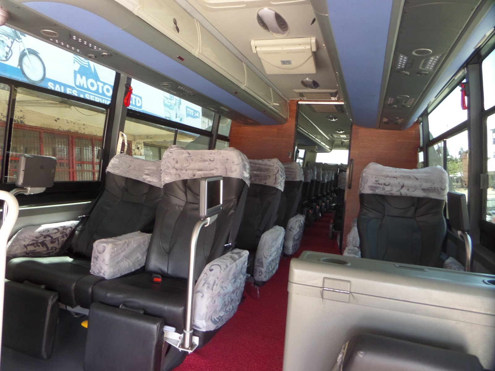The Beauty Behind Dreamline Express Zhongtong Buses Bus