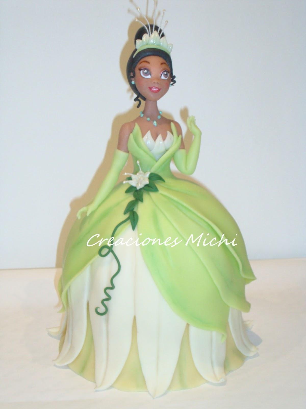 Cm arte y dise o princesa tiana la princesa y el sapo - Sapos y princesas valencia ...