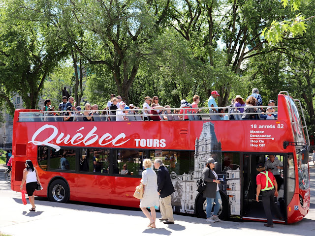 quebec city red bus tour